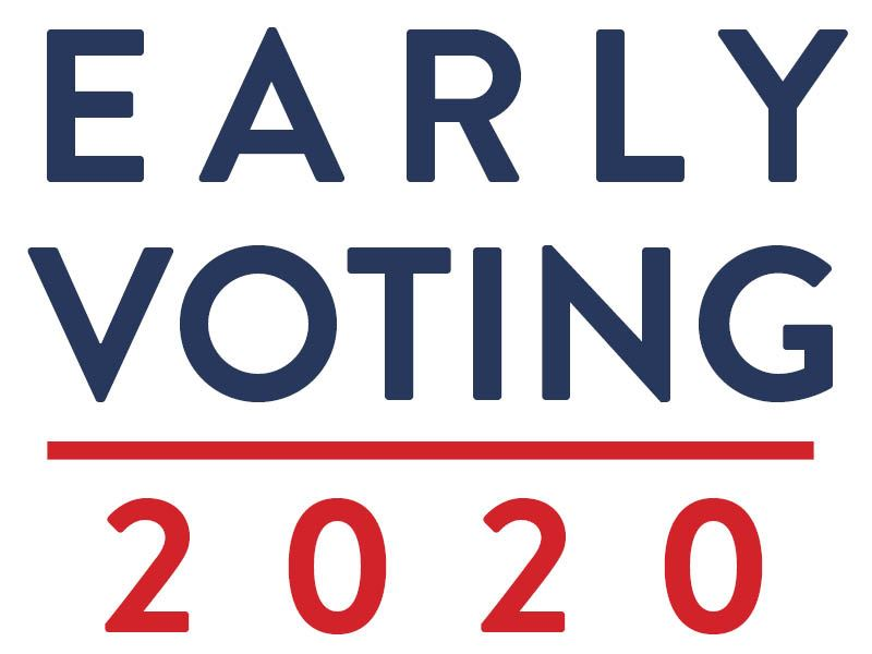 EARLY VOTING 2020 graphic