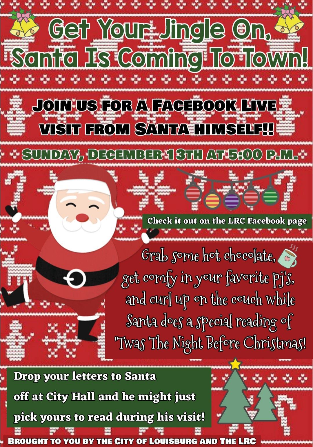 Get Your Jingle On flyer