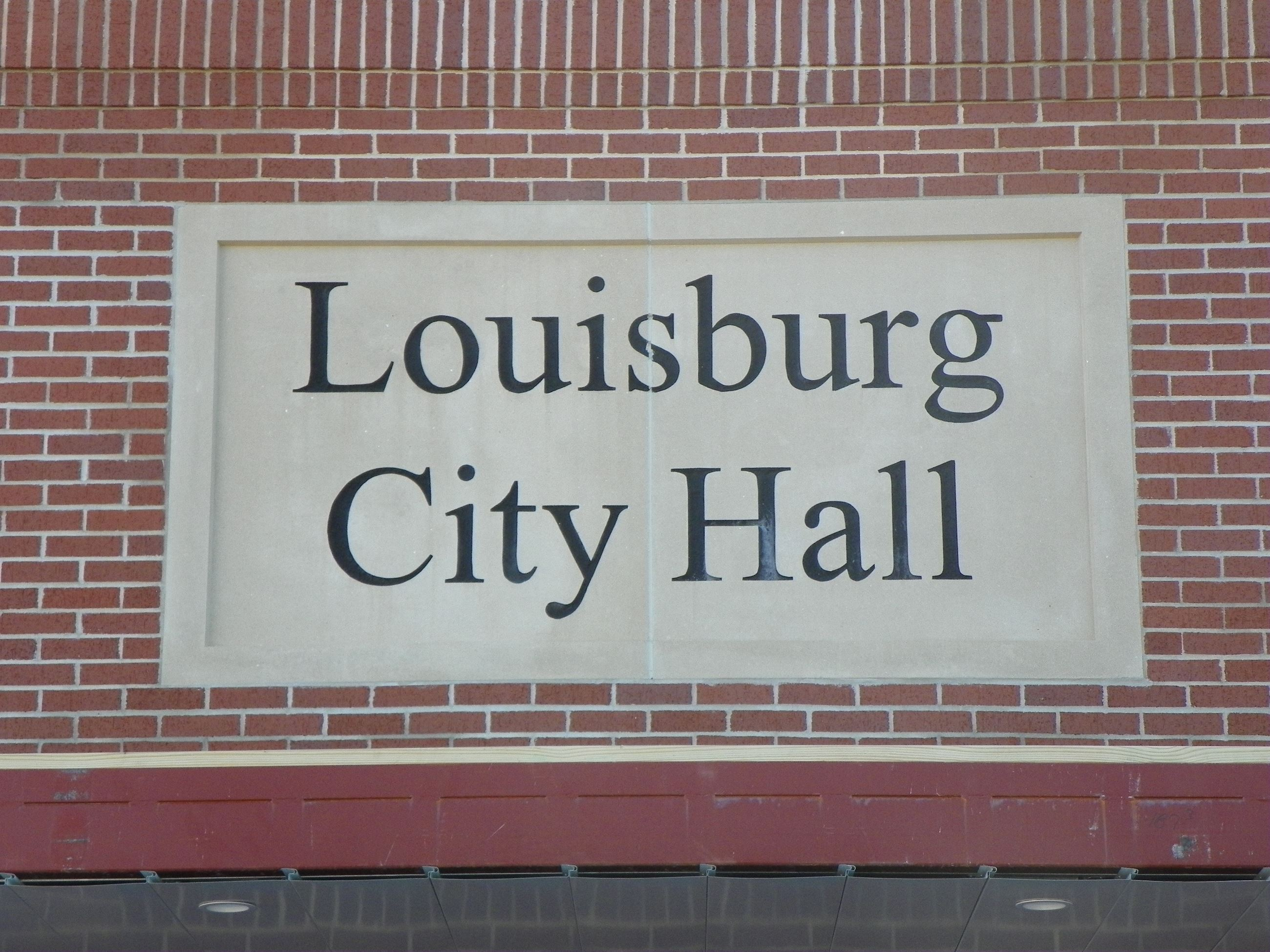 The City Hall nameplate