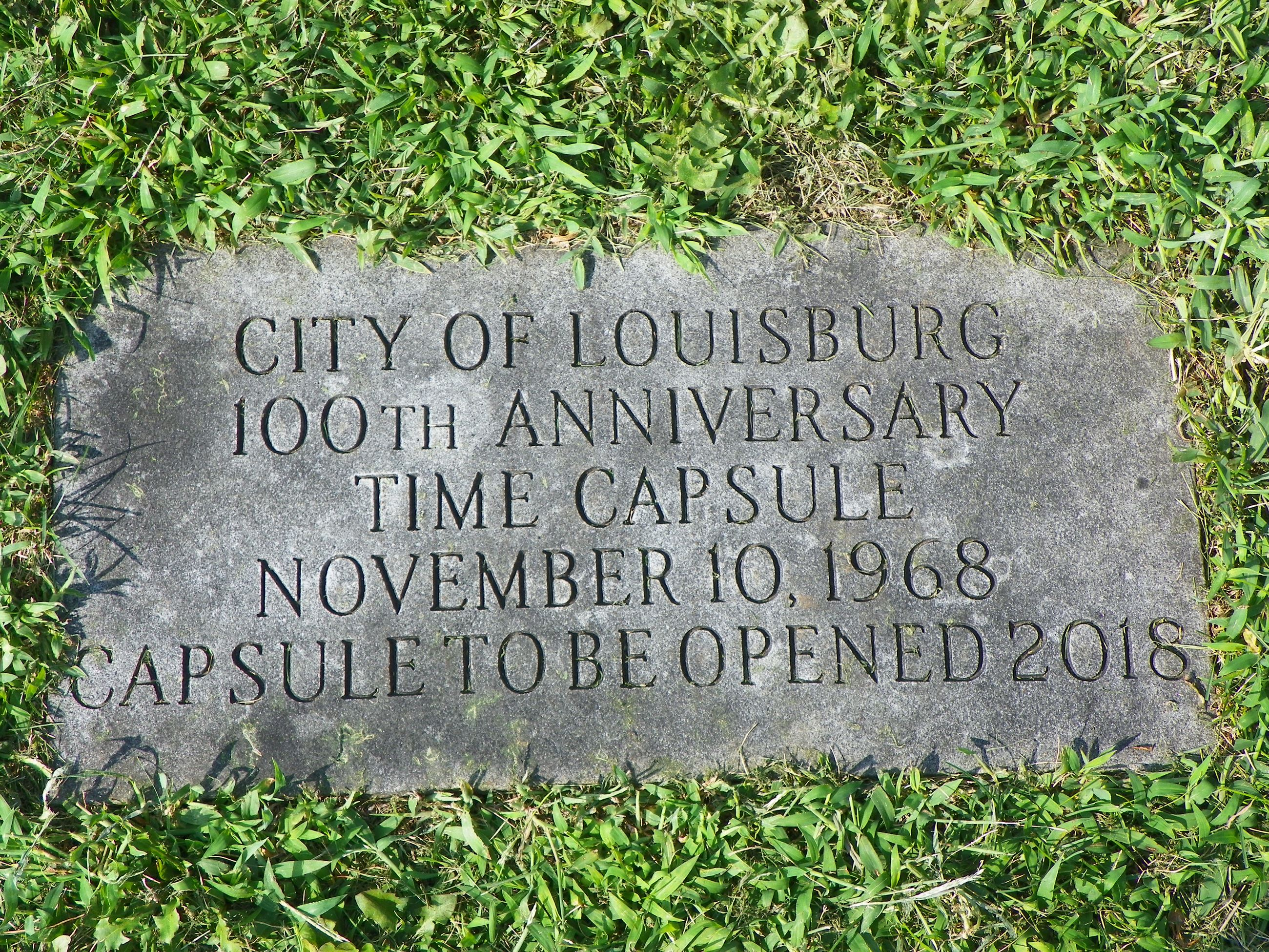 time capsule marker 1968