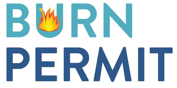 burn permit graphic